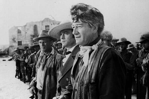 "John Wayne starred in and directed ""The Alamo,"" 1960. EXPRESS-NEWS FILE PHOTO"