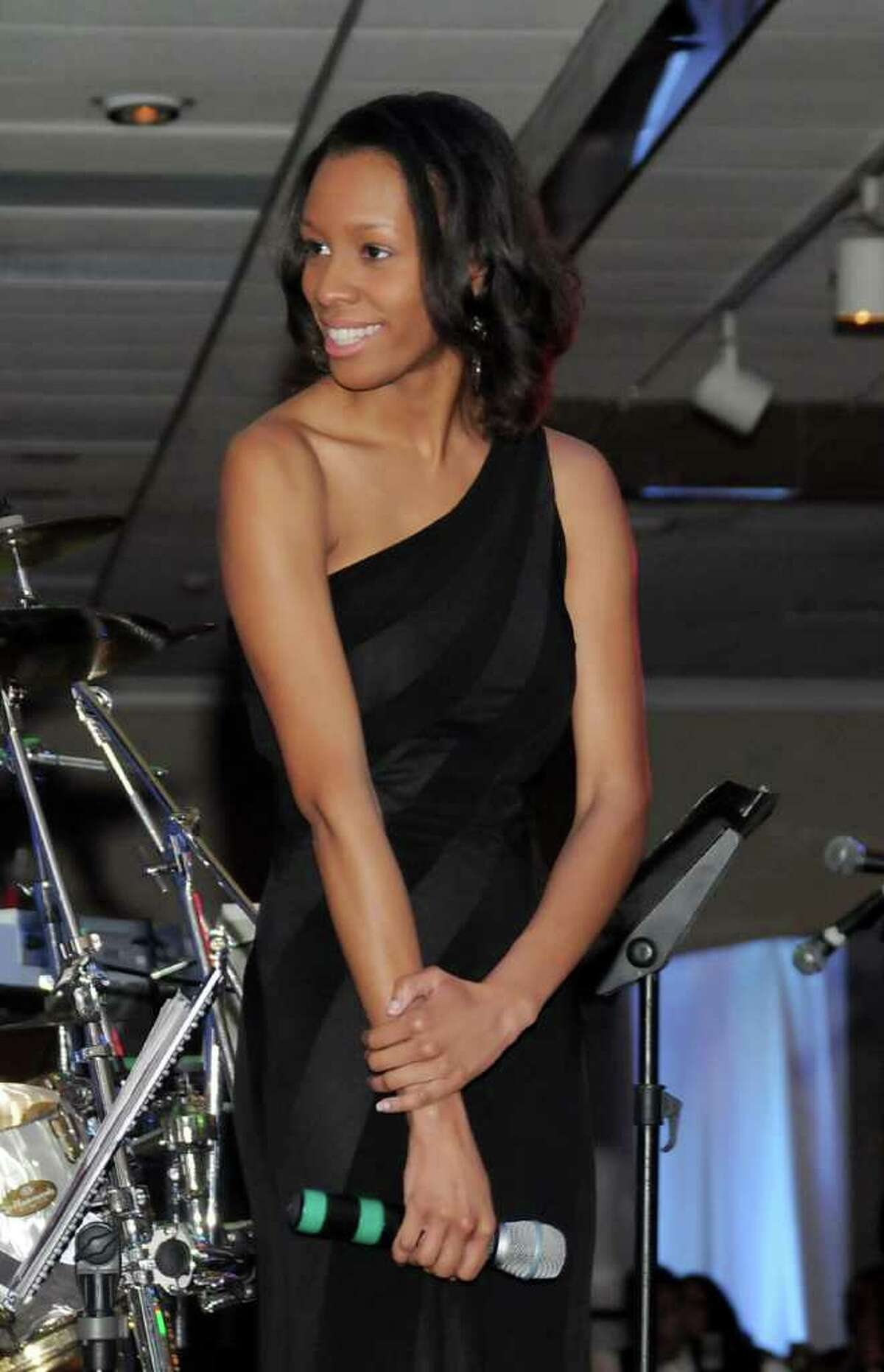 The Hord Foundation Inc. held it's 22nd Annual Gala at the Amber Room Colonnade in Danbury on Saturday Feb. 27, 2011. Danbury native, Simone Hill, a Hord scholarship recipient.
