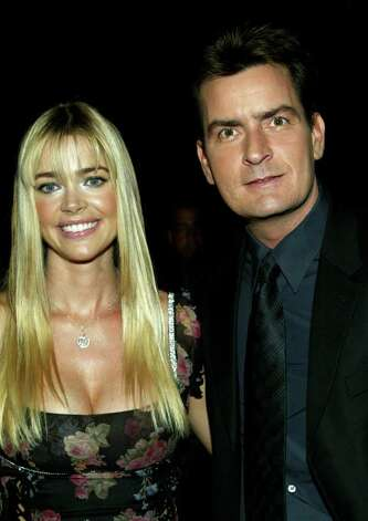 "WESTWOOD, CA - OCTOBER 20:  Actors Denise Richards and Charlie Sheen attend the film premiere of ""Scary Movie 3"" at the AMC Theatres Avco Cinema on October 20, 2003 in Westwood, California.  The film ""Scary Movie 3"" opens nationwide on October 24, 2003. Photo: Frederick M. Brown, Getty Images / 2003 Getty Images"