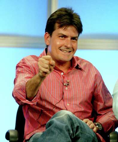 "BEVERLY HILLS, CA - JULY 20:  Actor Charlie Sheen attends the panel discussion for ""Two And A Half Men"" during the CBS 2005 Television Critics Association Summer Press Tour at the Beverly Hilton Hotel on July 20, 2005 in Beverly Hills, California. Photo: Frederick M. Brown, Getty Images / 2005 Getty Images"