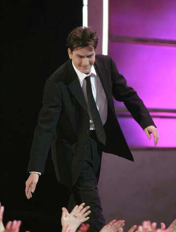 LOS ANGELES, CA - JANUARY 09:  Actor Charlie Sheen onstage during the 33rd Annual People's Choice Awards held at the Shrine Auditorium on January 9, 2007 in Los Angeles, California. Photo: Vince Bucci / 2007 Getty Images