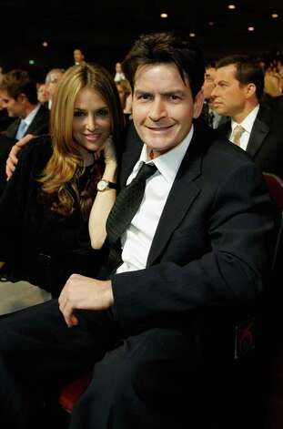 LOS ANGELES, CA - JANUARY 09:  Actor Charlie Sheen and Brooke Wolofsky in the audience during the 33rd Annual People's Choice Awards held at the Shrine Auditorium on January 9, 2007 in Los Angeles, California. Photo: Vince Bucci / 2007 Getty Images