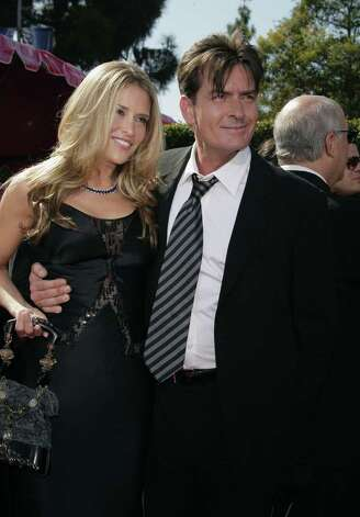 LOS ANGELES, CA - SEPTEMBER 16:  Actor Charlie Sheen and Brooke Mueller arrives at the 59th Annual Primetime Emmy Awards at the Shrine Auditorium on September 16, 2007 in Los Angeles, California.  (Photo by Kevin Winter/Getty Images) *** Local Caption *** Charlie Sheen;Brooke Mueller Photo: Kevin Winter, Getty Images / 2007 Getty Images