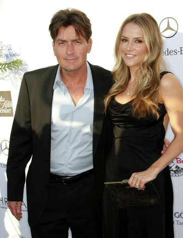 BRENTWOOD, CA - MAY 31: Actor Charlie Sheen (L) and actress Brooke Mueller attend the Seventh Annual Crysalis Butterfly Ball on May 31, 2008 in Brentwood, California. Photo: Frederick M. Brown, Getty Images / 2008 Getty Images