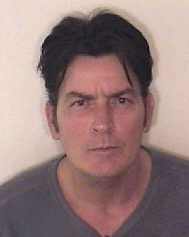ASPEN, CO - DECEMBER 25: In this handout photo provided by the Aspen Police Department, Charlie Sheen is pictured after being arrested on December 25, 2009 in Aspen, Colorado. According to the Aspen Police Department, Sheen is being held at the Pitkin County Jail, charged with second degree assault, menacing and criminal mischief. (Photo by Aspen Police Department via Getty Images) *** Local Caption *** Charlie Sheen Photo: Handout, Getty Images / 2009 Getty Images