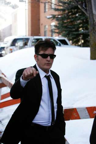 ASPEN, CO - FEBRUARY 08: Actor Charlie Sheen (aka Carlos Irwin Estevez) walks to a Court appearance on February 8, 2010 in Aspen, Colorado. Sheen appeared in court to face allegations of domestic violence after his arrest on December 25, 2009 for an alleged attack on his wife Brooke Mueller.  (Photo by Riccardo S. Savi/Getty Images) *** Local Caption *** Charlie Sheen Photo: Riccardo S. Savi, Getty Images / 2010 Getty Images