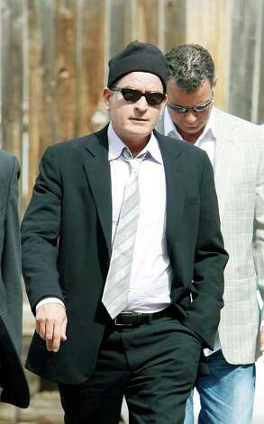 ASPEN, CO - JUNE 07:  Actor Charlie Sheen arrives for trial at the Pitkin County Court house on June 7, 2010 in Aspen, Colorado. Sheen is expected to plead guilty to a misdemeanor assault charge in exchange for prosecutors dropping felony menacing and criminal mischief charges.  (Photo by Riccardo S. Savi/Getty Images) *** Local Caption *** Charlie Sheen Photo: Riccardo S. Savi, Getty Images / 2010 Getty Images