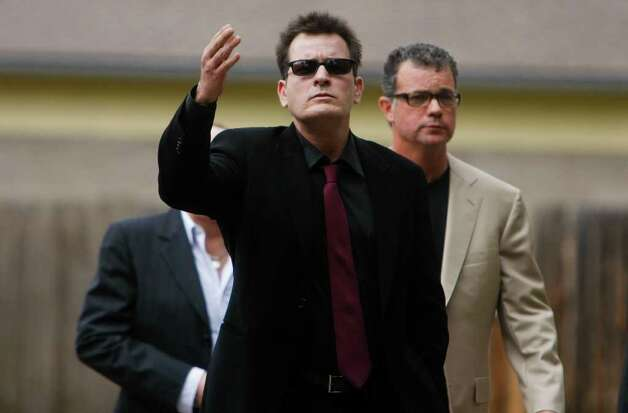 ASPEN, CO - AUGUST 02: Charlie Sheen arrives at the Pitkin County Courthhose on August 2, 2010 in Aspen, Colorado. (Photo by Riccardo S. Savi/Getty Images) *** Local Caption *** Charlie Sheen Photo: Riccardo S. Savi, Getty Images / 2010 Getty Images