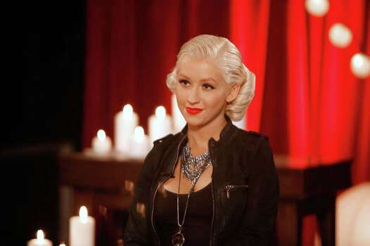 """*** Commercial Image ***  In this image released by Fuse on Friday, June 4, 2010, Christina Aguilera is seen during the taping of """"On The Record"""" with Fuse in Beverly Hills, Calif. Christina premieres Monday, June 7 at 9pm ET, the night before her album Bionic is released. Photo: AP IMAGES FOR FUSE"""