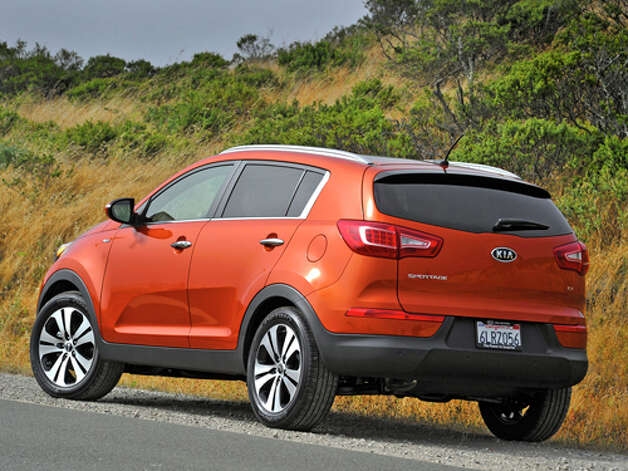 2011 Kia Sportage EX AWD (photo courtesy Kia)