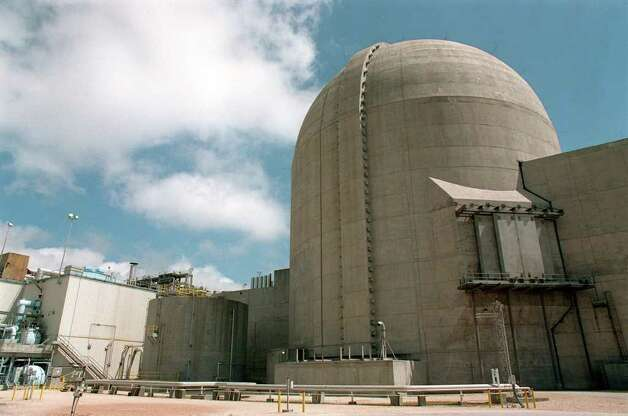 FOR FOCUS 97 ADVANCE - Photo of the nuclear power plant in Bay City. Photo: DOUG SEHRES / SAN ANTONIO EXPRESS-NEWS
