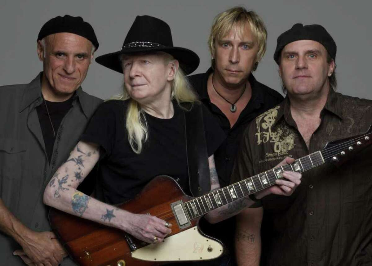 Blues legend Johnny Winter will perform at Toad's Place on Friday, March 4. Winter, of Easton, is in the process of recording