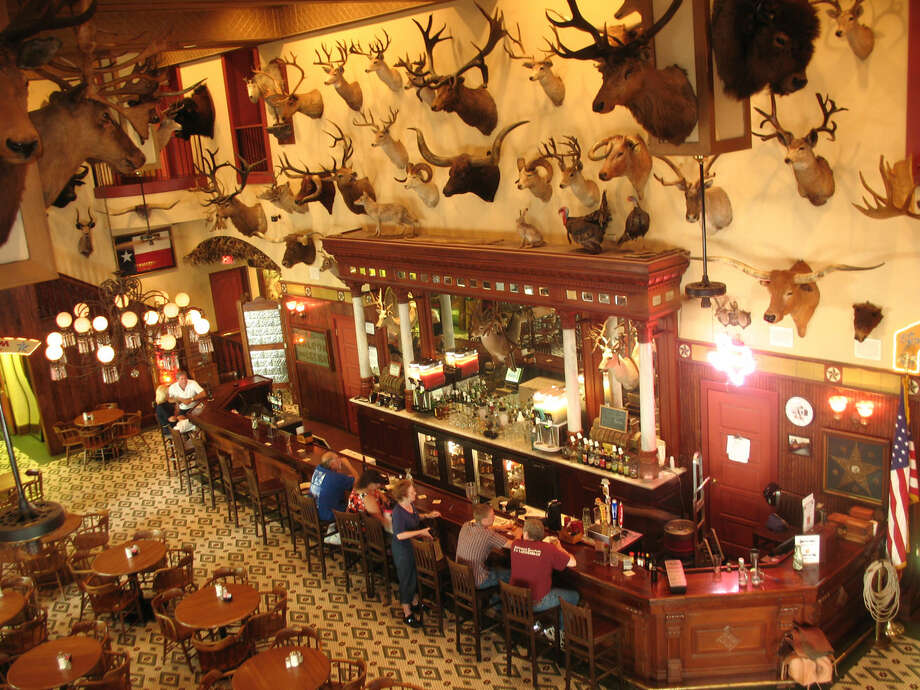 The view from above the bar at the Buckhorn Saloon. Photo: Express-News File Photo