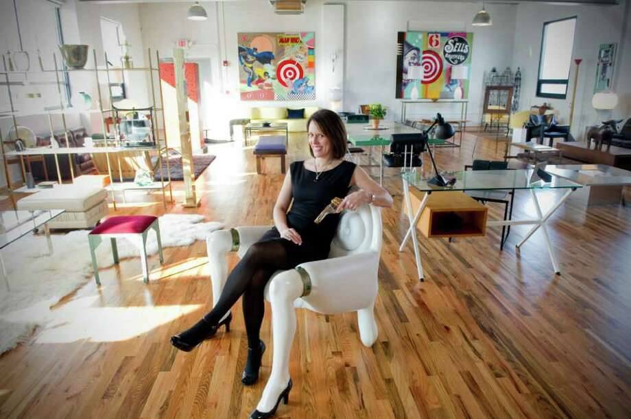 Kim Elstein Owner Of 33 Now, A New American And European Furniture Shop In  Stamford