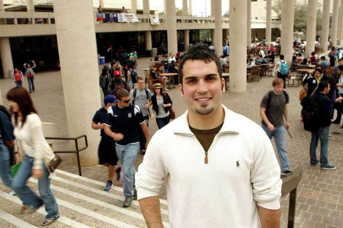 Derek Trimm, student body president at UTSA, has received the grants for four years.