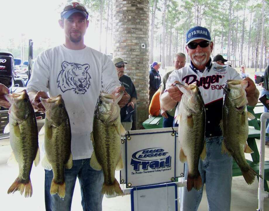 First Place Winners Freeman and Rice with their 26.35lb limit Photo: Jodie Warner