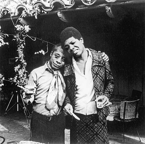 Angelou and James Baldwin Photo: Contributed Photo / Greenwich Citizen