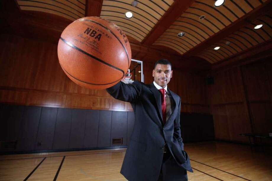 "Former New York Knick star Allan Houston is now the team's assistant general manager. Houston, who lives in Greenwich, was involved in the recent trade that brought Carmelo Anthony to the Knicks. ""I lent my experience and perspective on what that trade would mean to New York — how it will affect the dynamic and chemistry of the team for the next 5 to 10 years,"" Houston says. Photo: Contributed Photo / Greenwich Citizen"