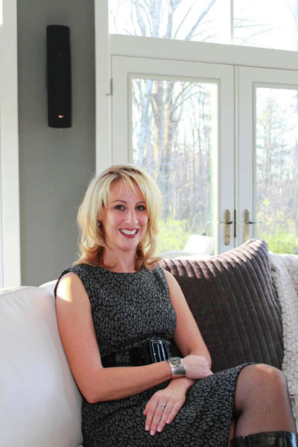 Sandra Fox's Clifton Park home, built by Theodore J. Cillis III of Cillis Builders, focuses on distinctive touches to create a custom splendor. (Nancy Bruno/Life@Home) Click here to read the story.