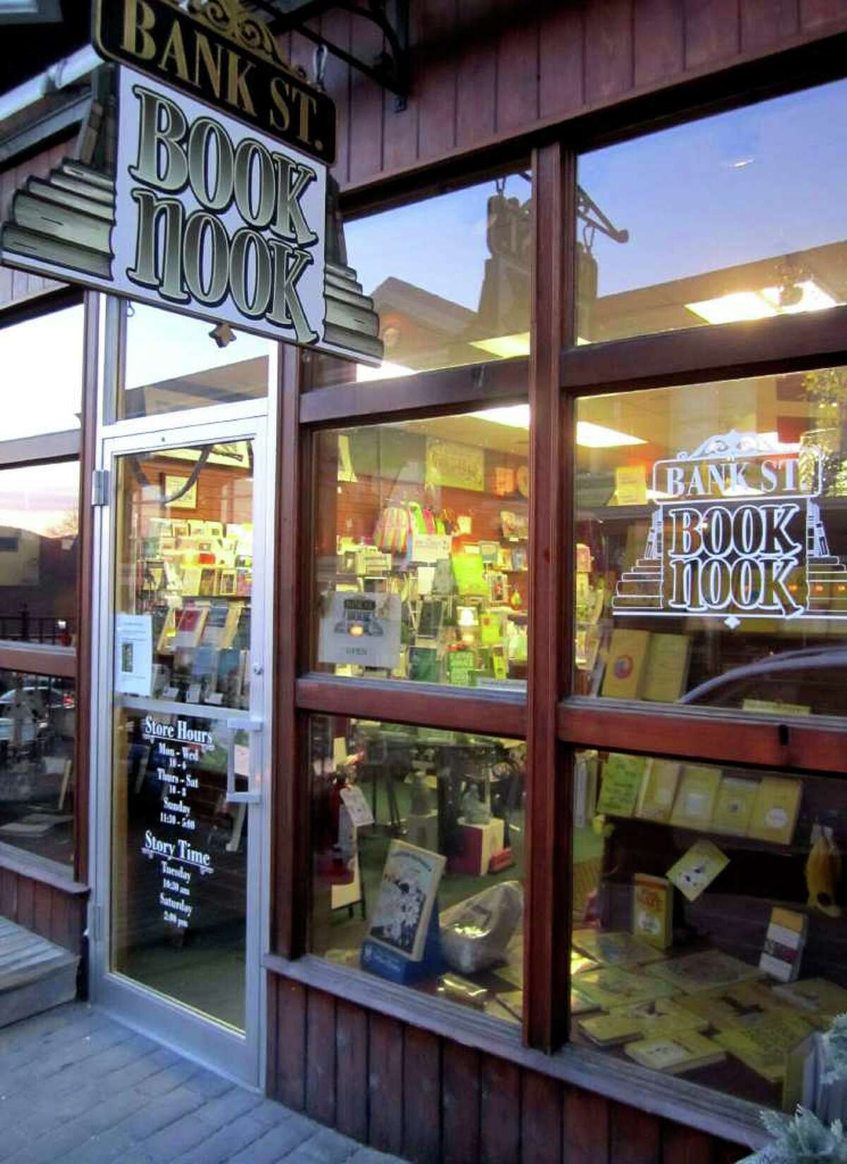 SPECTRUM/The Book Nook on Bank Street in New Miford is one of several independent book stories in the Greater New Milford area. March 1, 2011
