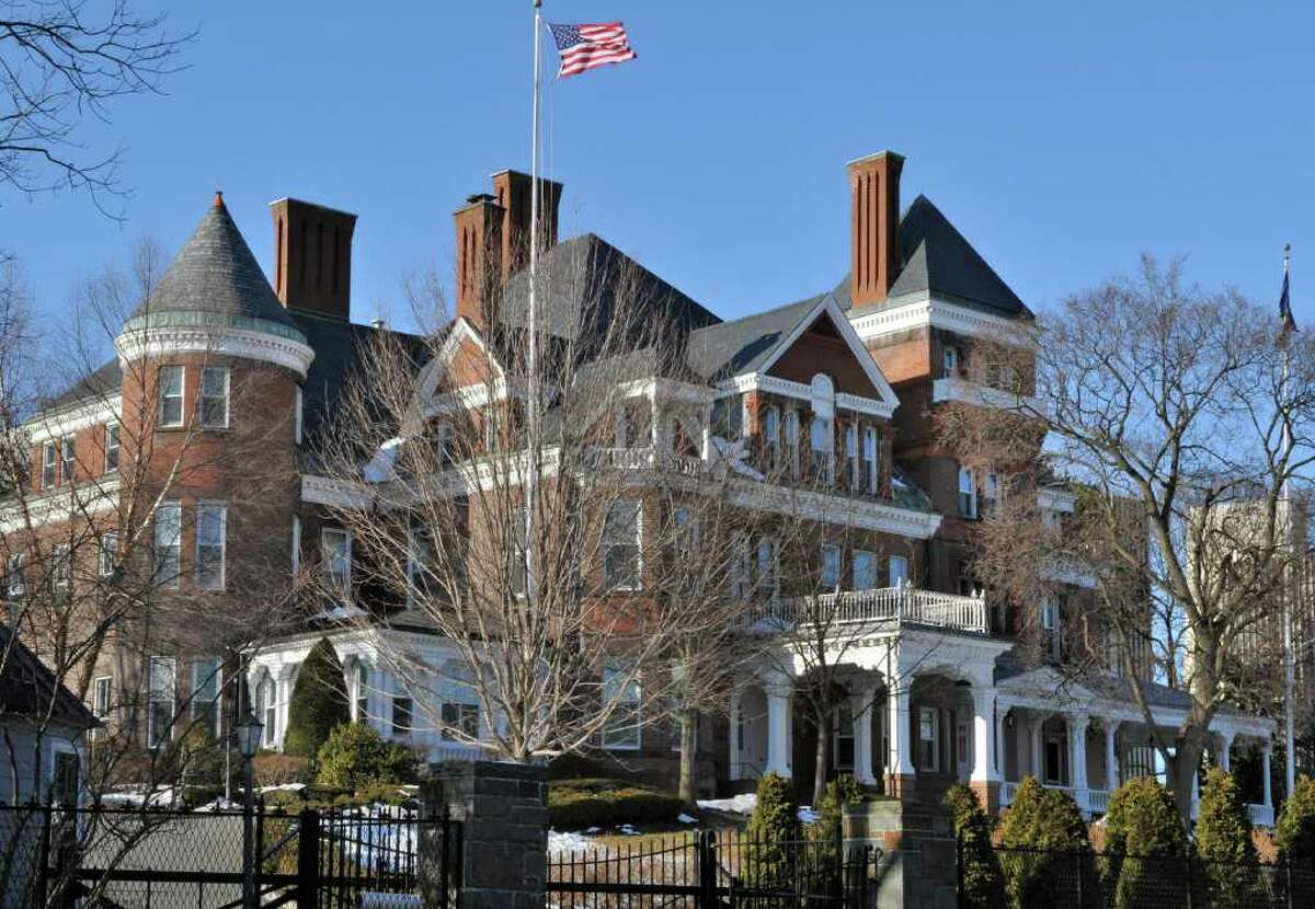 The NYS Executive Mansion Wednesday afternoon Mar. 2, 2011. (John Carl D'Annibale / Times Union)