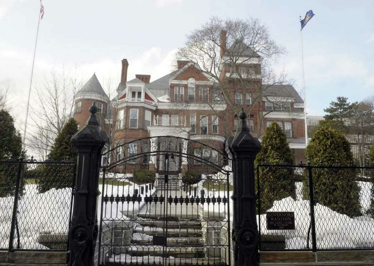 A view of the Governor's Mansion in Albany, NY on Wednesday, Mar. 2, 2011. (Paul Buckowski / Times Union)