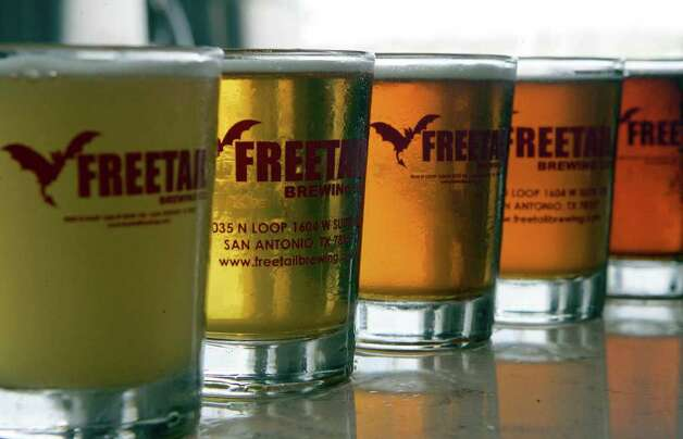 Freetail Brewing Co. will participate in San Antonio Beer Week. Photo: KEVIN GEIL, SAN ANTONIO EXPRESS-NEWS / kgeil@express-news.net