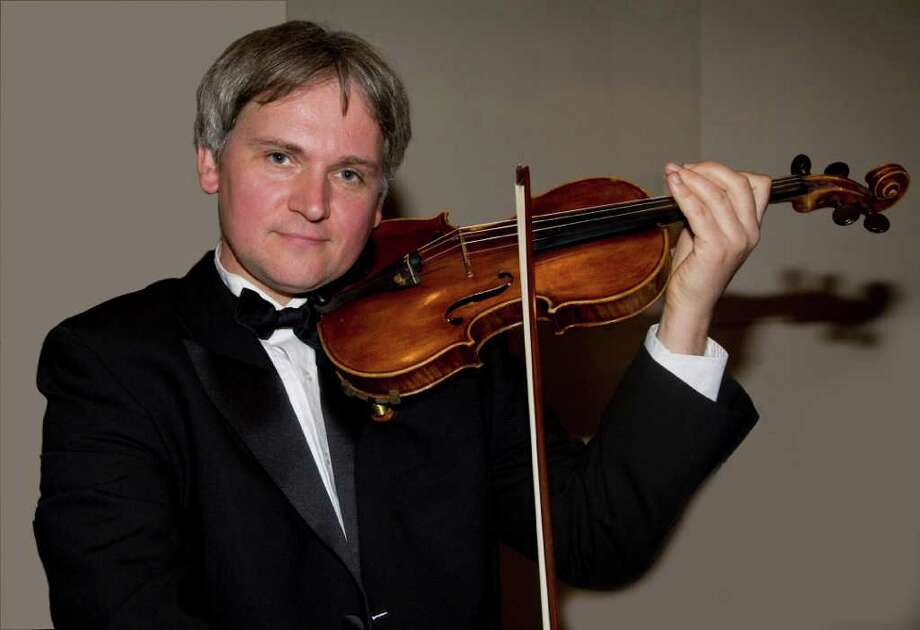 Krystof Witek, a member of the Chamber Players of the Greenwich Symphony, will be among the performers in two upcoming concerts. The Players, which includes principals from the orchestra, will perform Sunday, March 6, and Monday, March 7. Photo: Contributed Photo / Stamford Advocate Contributed