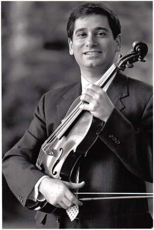 Violist Vincent Lionti will be a featured guest at the Greenwich-based Chamber Players concerts March 6 and 7. Photo: Contributed Photo / Stamford Advocate Contributed