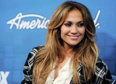 """American Idol"" judge Jennifer Lopez arrives at the ""American Idol"" Finalists Party in Los Angeles, Thursday, March 3, 2011. Photo: AP"