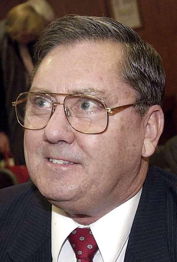 Greenwich Assessor Ted Gwartney, shown in 2003. Photo: File Photo / Greenwich Time File Photo