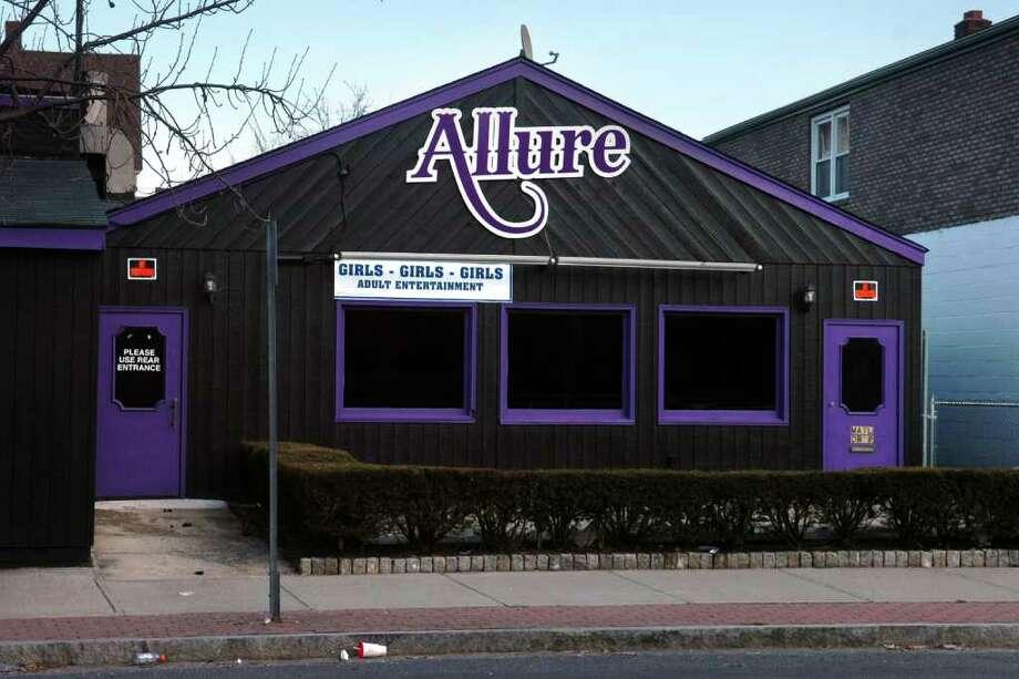 Club Allure, 2068 East Main St. Bridgeport, Conn. March 4th, 2011. Photo: Ned Gerard / Connecticut Post