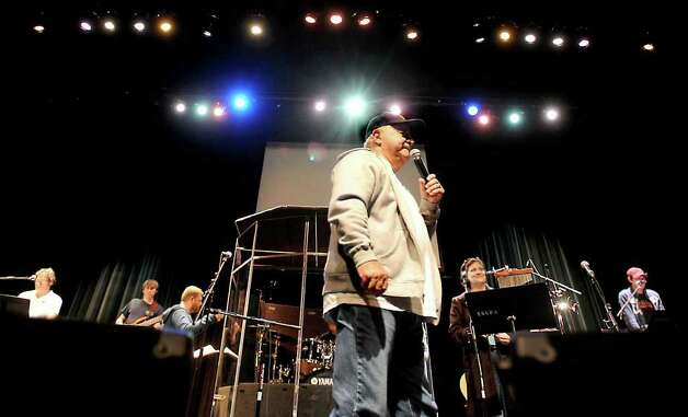 Johnny Preston rehearses with Lamar Port Arthur commercial music students for their performance of The Day the Music Died at the Performing Arts Theater in Port Arthur IN jANUARY, 2009. eNTERPRISE FILE PHOTO Photo: File / Beaumont