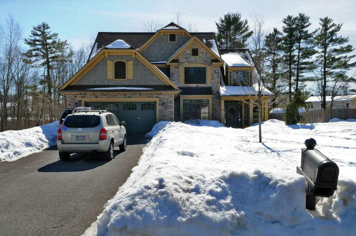 """View of the home that was rebuilt in 2007 for ABC's """"Extreme Makeover: Home Edition"""" television show, as it looks on Thursday Mar. 3, 2011 in Colonie, NY. ( Philip Kamrass / Times Union )"""