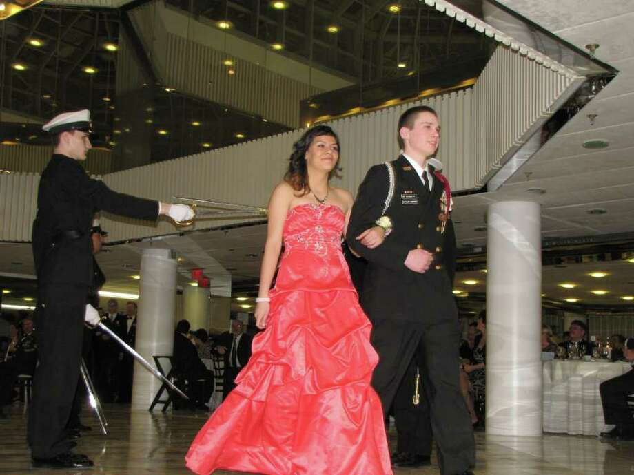 """Were you seen at the Bethel High School Military Ball at the Matrix Banquet Center in Danbury, CT on March 5, 2011?"" Photo: Vincent Rodriguez / The News-Times"