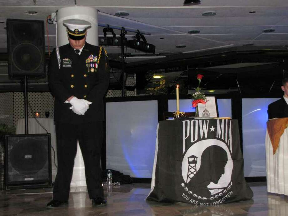 POW/MIA Commemoration Photo: Vincent Rodriguez / The News-Times