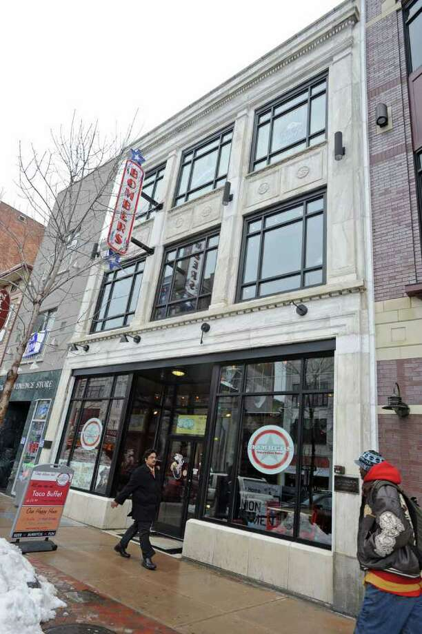 Bombers at 447 State St. received a PILOT and facade grant from the Schenectady Metroplex Development Authority to lure the Albany eatry downtown.  (Lori Van Buren / Times Union) Photo: Lori Van Buren