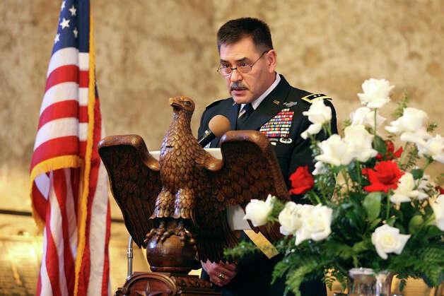 Major General Simeon G Trombitas Commanding 610535