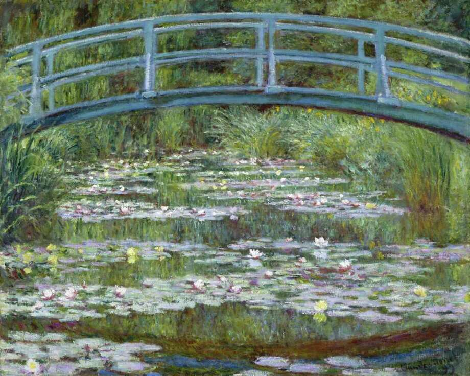 Claude Monet, French, 1940-1926 The Japanese Footbridge 1889 Oil on canvas The National Gallery of Art, Washington, D.C., Gift of Victoria Nebeker Coberly, in memory of her son John W. Mudd, and Walter H. and Leonore Annenberg, 1992.9.1 / handout