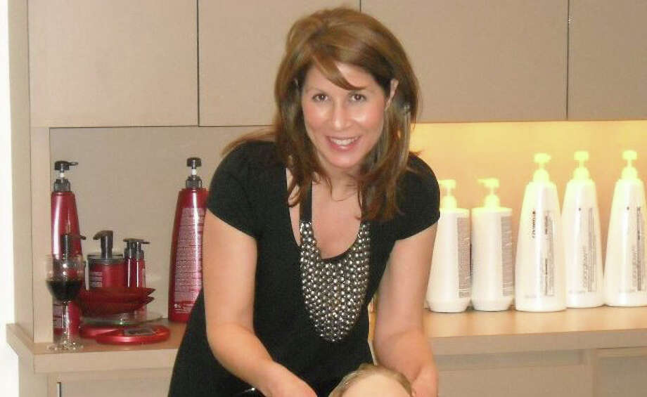 Toni Costa, the senior stylist at Salon Serein in Westport, was just certified by the American Board of Cerified Hair Colorists. Photo: Contributed Photo / Westport News