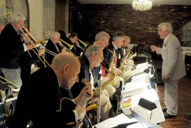 The Sonny Carroll Orchestra performs at Sciortino's Restaurant in Brewster on Sunday Feb. 27, 2011. Photo: Lisa Weir / The News-Times Freelance