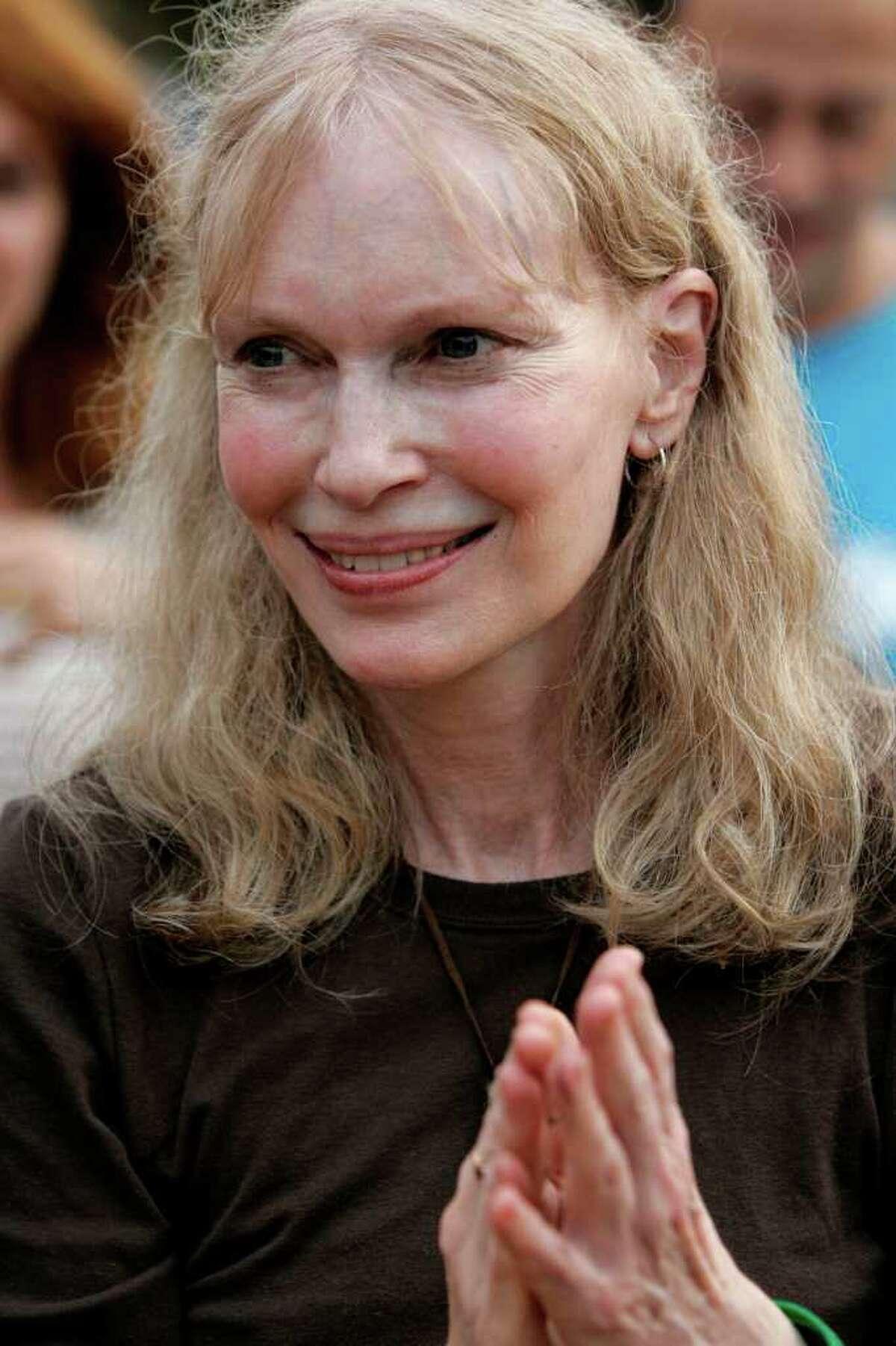 Mia Farrow. AP photo