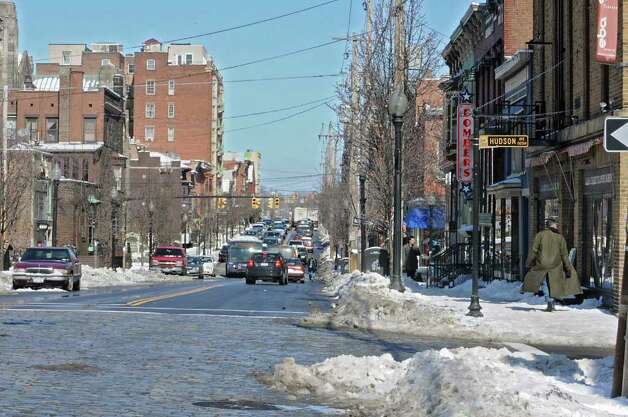 Scene on Lark Steet in Albany, NY on Tuesday, March 8, 2011. (Lori Van Buren / Times Union) Photo: Lori Van Buren