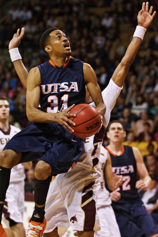 Sophomore guard Melvin Johnson III, who averages 14.7 points per game, has expanded his arsenal in two seasons at UTSA. Once just a spot shooter, now he drives, moves without the ball and plays defense. Photo: Marvin Pfeiffer/Express-News / Express-News 2011