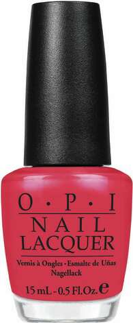 Big Hair Big Nails, a new color from the OPI Texas collection. OPI / DirectToArchive