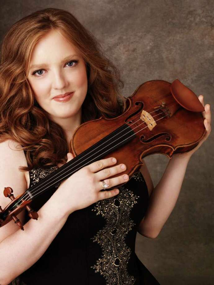 Chicago-based violinist Rachel Barton Pine, who has appeared as a soloist with orchestras around the world, will perform with the Stamford Symphony Orchestra March 12-13. She will play Vivaldi's 'Four Seasons.' Contributed photo/Andrew Eccles. Photo: Contributed Photo / Stamford Advocate Contributed