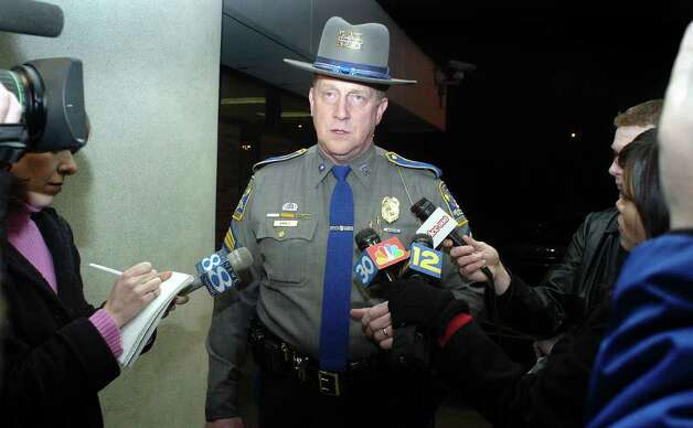 State Police spokeman Sgt. Paul Vance. Photo: File Photo / Connecticut Post