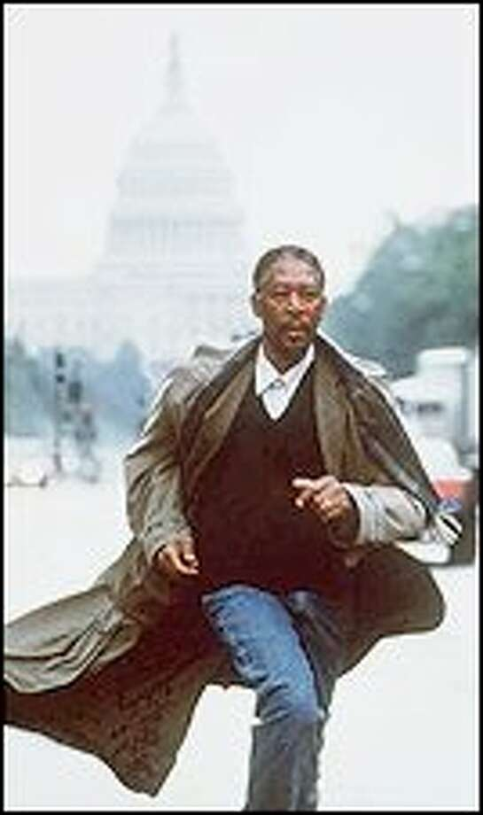 "Morgan Freeman stars in ""Along Came a Spider,"" a film adaption of James Patterson's best seller. Photo: Paramount Pictures"