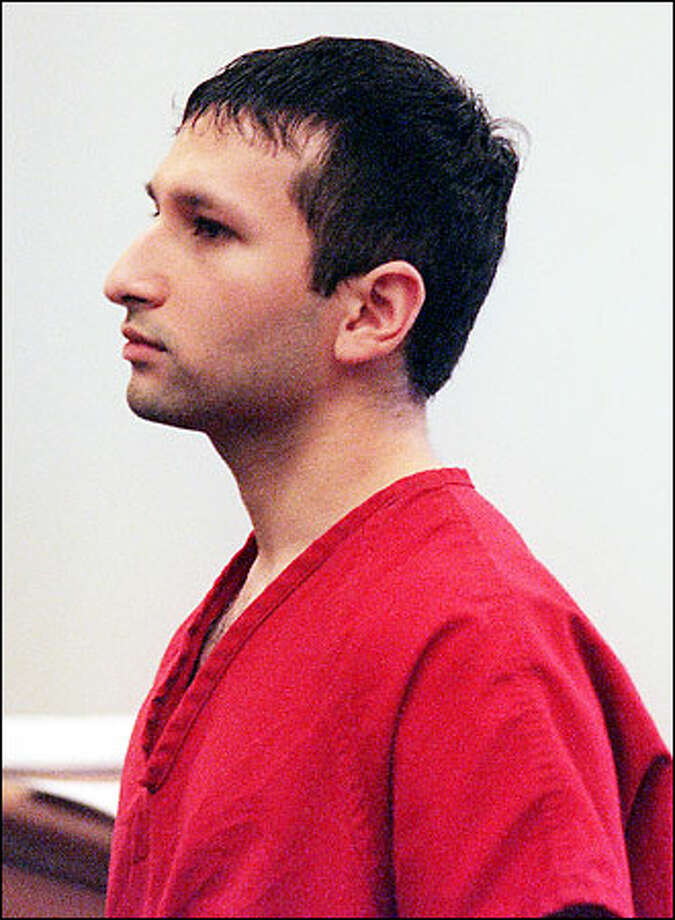 Atif Rafay at his arraignment yesterday in King County Superior Court. Photo: Paul Joseph Brown/Seattle Post-Intelligencer
