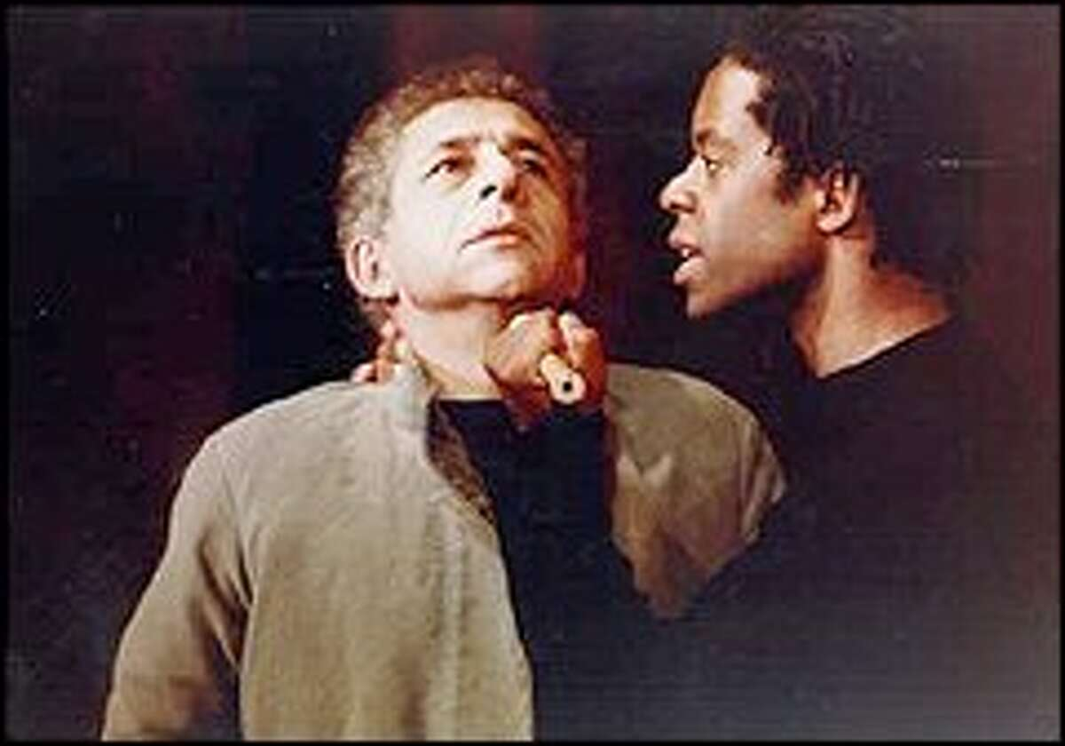 Adrian Lester, right, is 'amazing' as the title role.